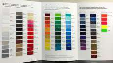 Color Chart Toyota Auto Paint