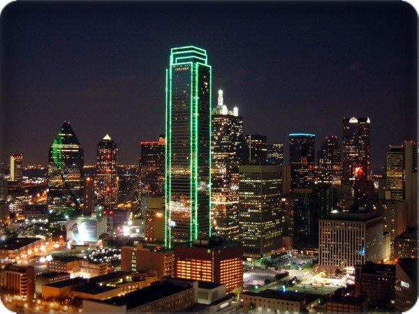 Whether LED or neon buildings lights allow you to stand out as a landmark. & Exterior Building Lighting Dallas Fort Worth azcodes.com
