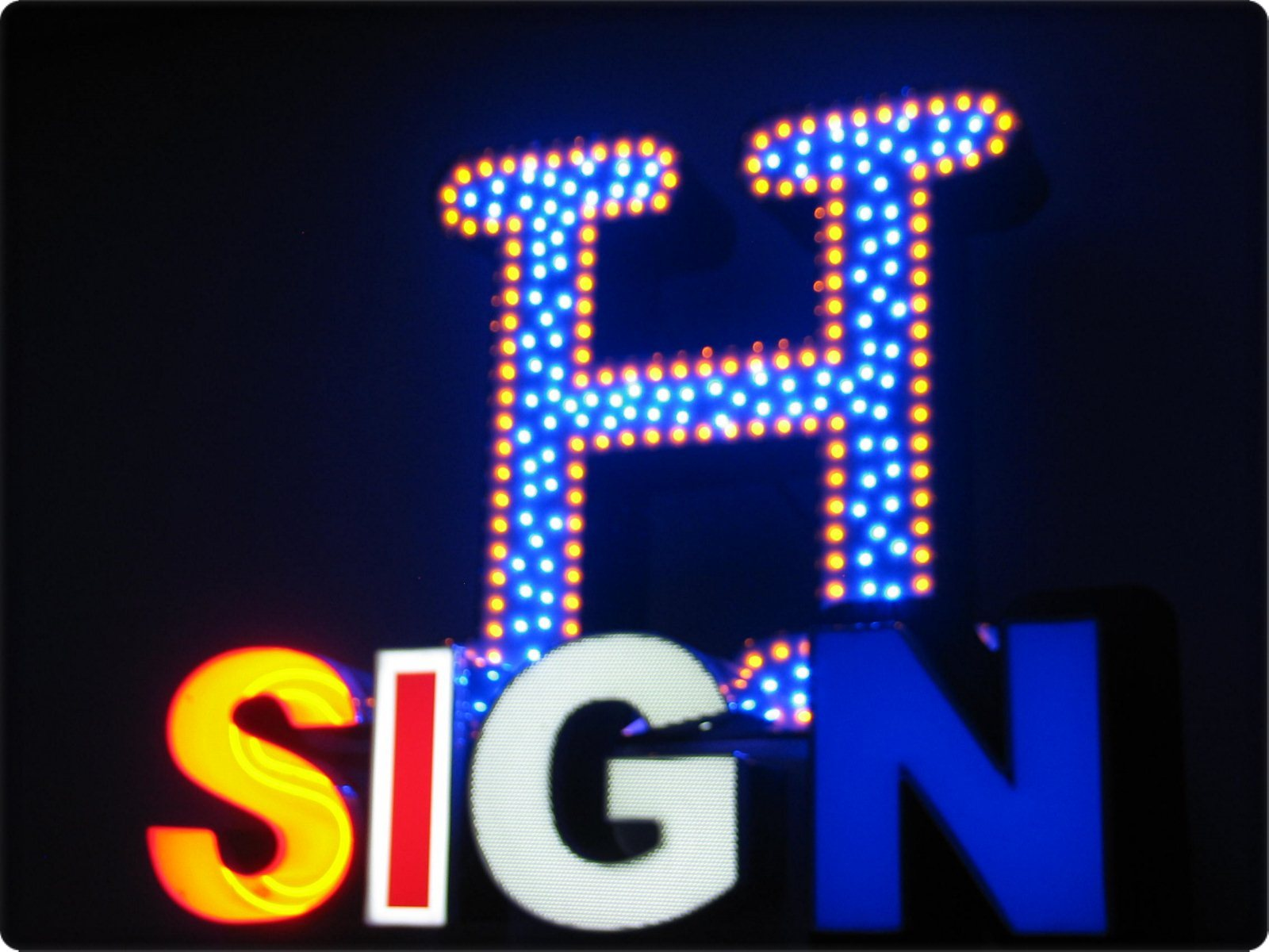 Channel Letter Lighting Choices