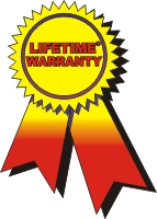 3-Year Guarantee and Lifetime Warranty