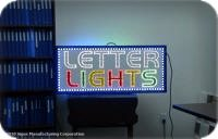 Sample PinLights Sign