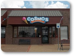Cosmos Ice Cream Cloud Sign