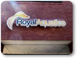 Cloud Sign Royal Aquatics