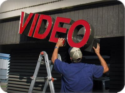 By installing it yourself you can get cheap, attractive and reliable signs!