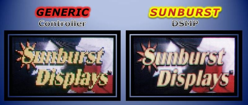 Sunburst LED Sign Controller Comparison