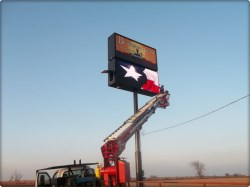 Sign Installations in Texas
