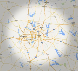 Sign Service Area Map | Dallas | Fort Worth | McKinney