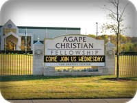 Agape Christian Church Message Board