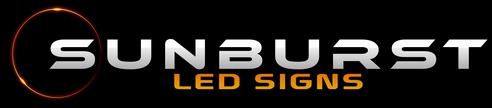 Sunburst LED Signs