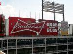 Budweiser Sign Cabinet at The Ballpark in Arlington, Texas