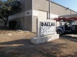 Unlighted Monument Sign by Signs Manufacturing, Texas