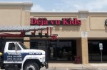 Deja Vu Kids Channel Letter Sign with Backplate in Dallas by Signs Manufacturing, Dallas, TX