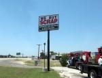 Momentum Metals creative pole sign, Hudson Oaks, TX