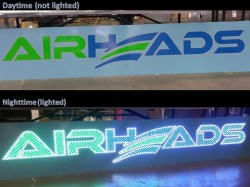Airheads PinLights Sign
