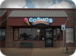 Cosmos Ice Cream Channel Letter Sign and Logo