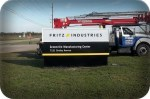 Fritz Industries Monument Sign by Signs Manufacturing of Dallas TX