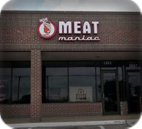 Meat Maniac Creative Logo Channel Letter Signage Texas