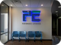 Interior LED Lighted Reverse Channel Letters Dallas TX